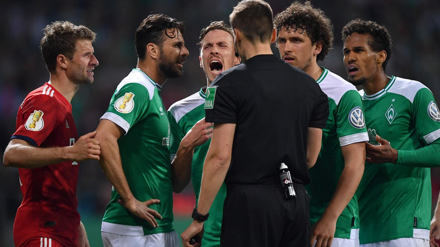 Pokal Werder Bremen Bayern München