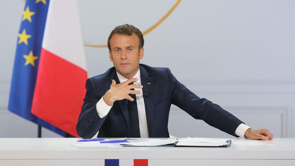 Frankreichs Präsident Emanuel Macron