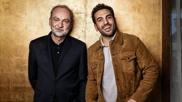 Ferdinand von Schirach und Elyas M'Barek im stern-Gespräch