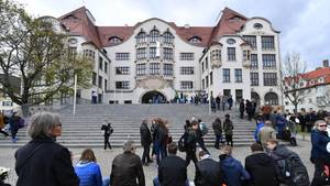 Erfurt erinnert an die Opfer des Amoklaufs von 2002