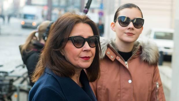 Nathalie Volk (r.) mit ihrer Mutter