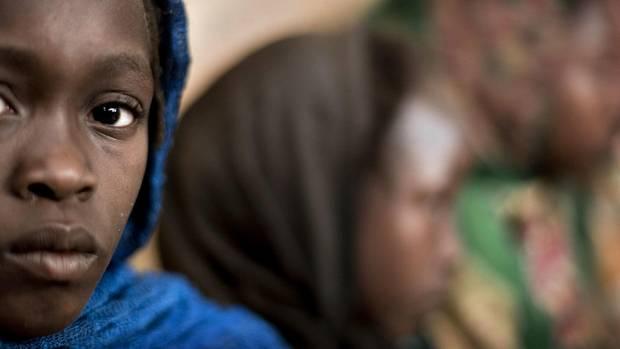 Kinder im Tschad
