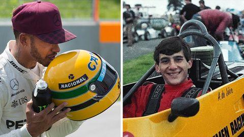 Formel 1: Verneigung vor Ayrton Senna - vor 25 Jahren verunglückte die Renn-Ikone tödlich