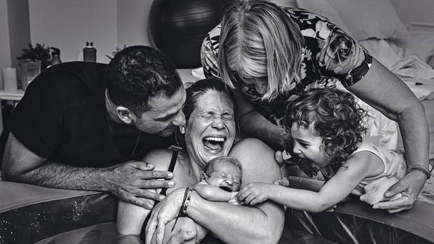 Geburt: der Moment, in dem ein Kind das Licht der Welt erblickt