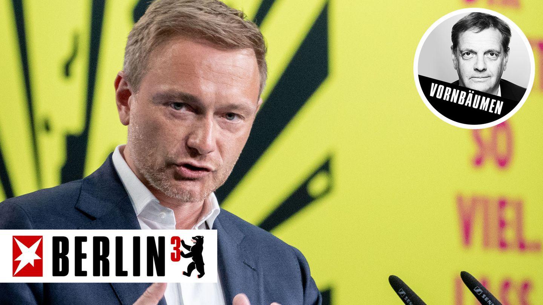 Eröffnete den Parteitag der Liberalen auf chinesisch: FDP-Chef Lindner
