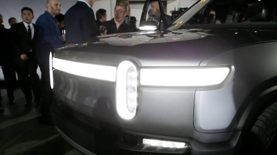 Rivian: Ein SUV als Elektroauto? So soll er aussehen