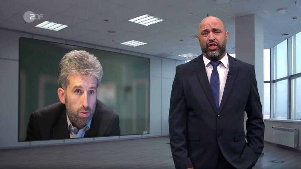 """Zu Boris Palmers Shitstorm hatte Serdar Somuncu in der """"heute-show"""" wenig nettes zu sagen"""