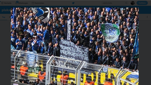 """""""Nicht zu tolerieren, inakzeptabel und traurig"""": Ex-BVB-Profi Marc Batra zeigte sich entsetzt über das Plakat der Schalker Fans"""