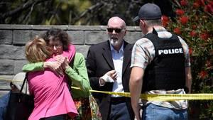 """Tödlicher Angriff auf Synagoge – Trump verurteilt """"Hassverbrechen"""""""
