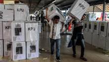 Indonesien Wahl