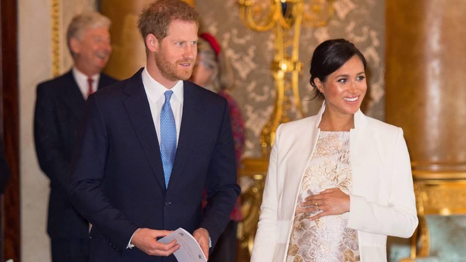 Meghan Markle und Prinz Harry erwarten ihr erstes Kind.