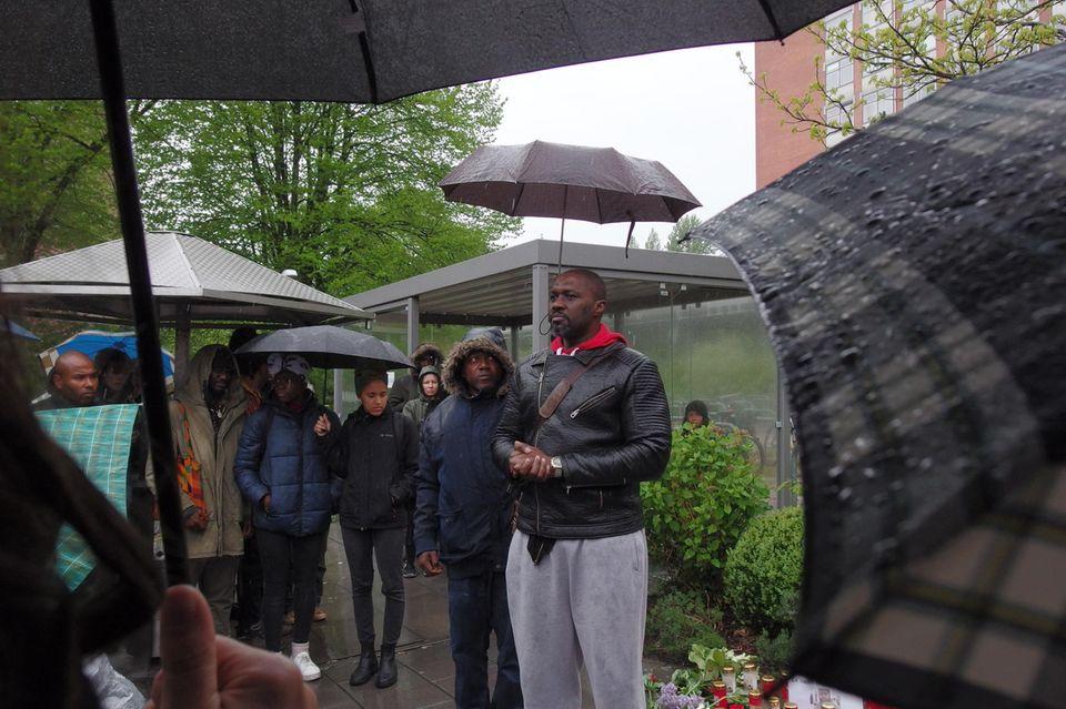 Trauerveranstaltung am UKE in Hamburg