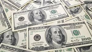 Welche Höhe die Dollar-Noten hatten, ist nicht bekannt
