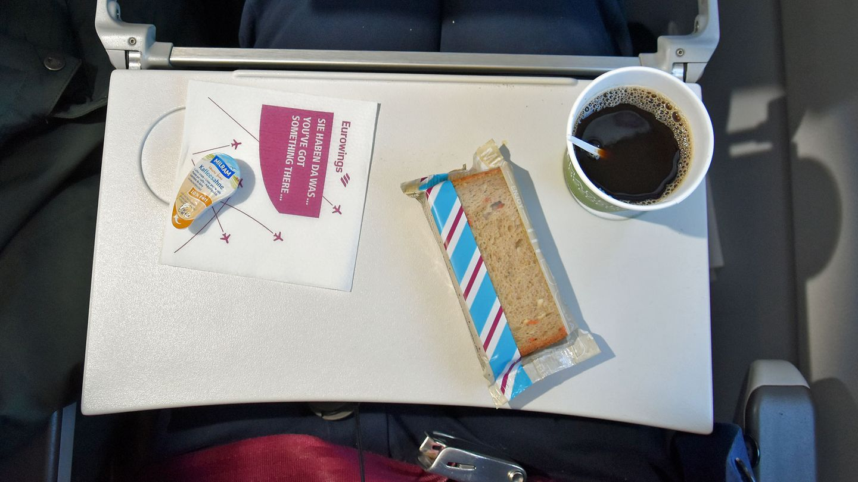 Eurowings, Economy Class (Smart Tarif): Hamburg - London