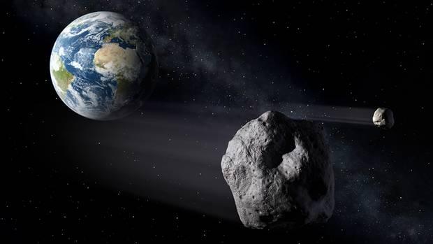 Asteroid nähert sich der Erde - Esa zeigt Planspiel online