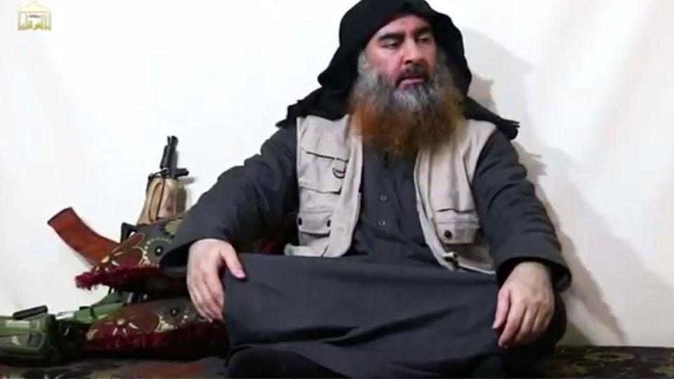 """Al-Baghdadi: """"IS""""-Anführer meldet sich laut Extremistenmiliz per Video zu Wort"""
