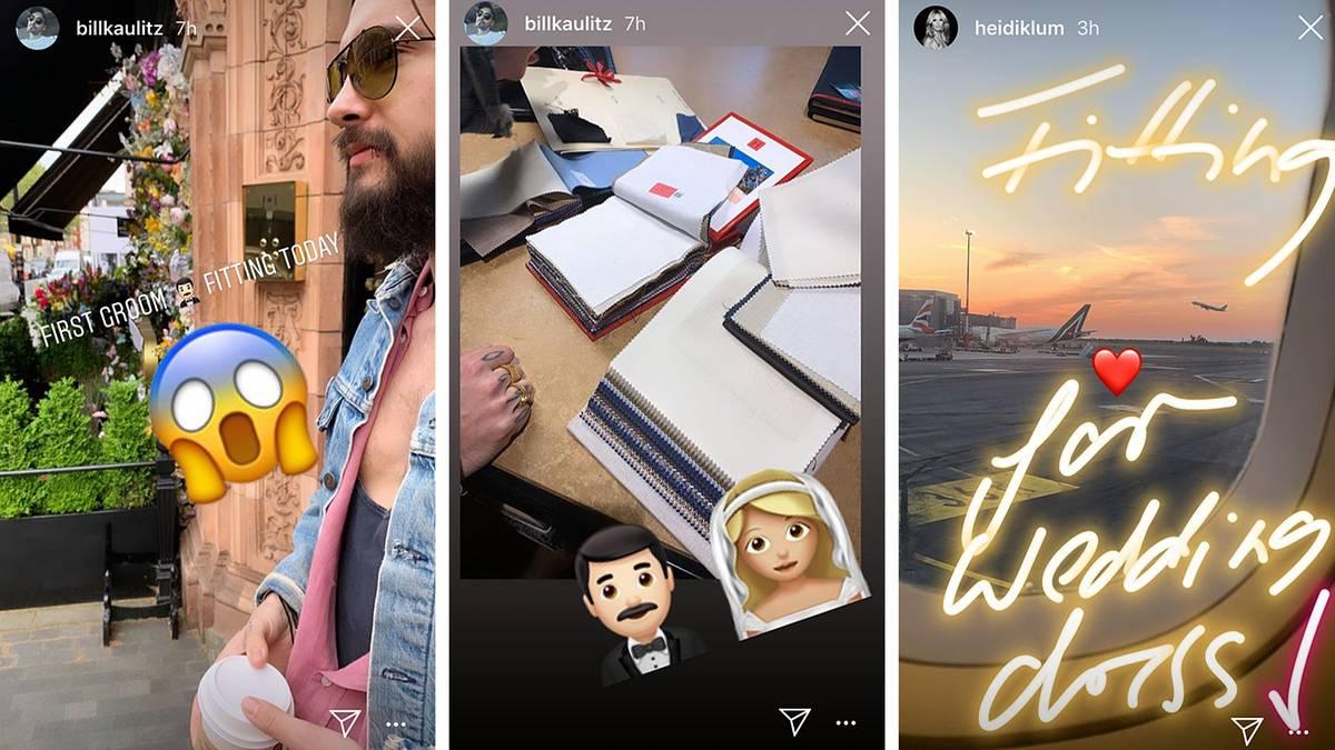Leute von heute: Der Anzug sitzt: Tom Kaulitz probiert sein Hochzeits-Outfit