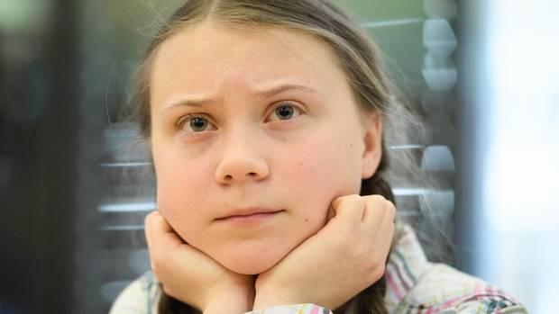 Greta Thunberg bei einem Besuch in London im April dieses Jahres