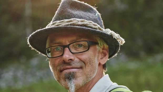 Kletterer Andreas Hollingerkennt sich im anspruchsvollen Gelände bestens aus