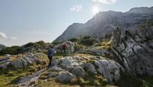 Raue Schönheit: Auf dem Weg zum Hochtor lernen Besucher die Faszination des Gesäuses kennen – sanfte Flora und schroffe Felsen