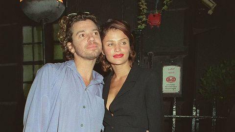 Michael Hutchence mit Helena Christensen