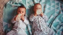 Babys, die viel Flaschenmilch trinken, sollen später eher übergewichtig werden