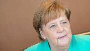 """""""Klares Nein"""": Kanzlerin Angela Merkel hat bei derCDU-Vorstandsklausur nach der Europawahl keine Entscheidung bekannt zu geben."""