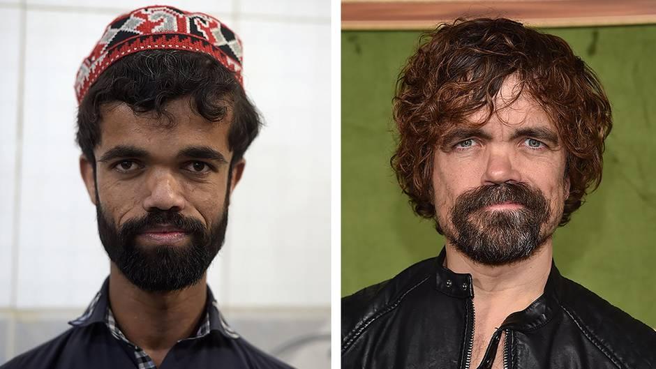 """Kleinwüchsiger Kellner: Vorbild Tyrion Lannister: Wie """"Game of Thrones"""" das Leben von Rozi Khan verbessert hat"""