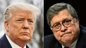 US-Präsident Donald Trump, William Barr