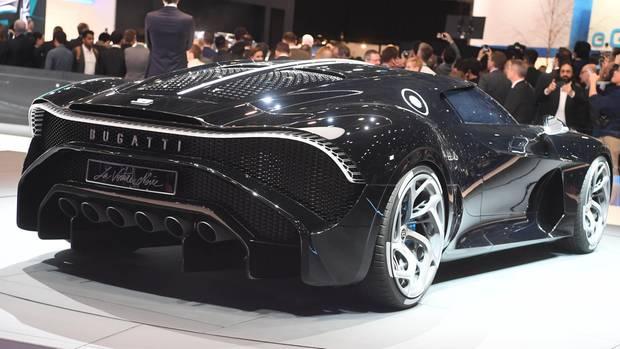 """Beim Genfer Autosalon wirdder Bugatti """"La Voiture Noire""""präsentiert"""