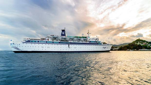 "Das Scientology-Schiff ""Freewinds"""