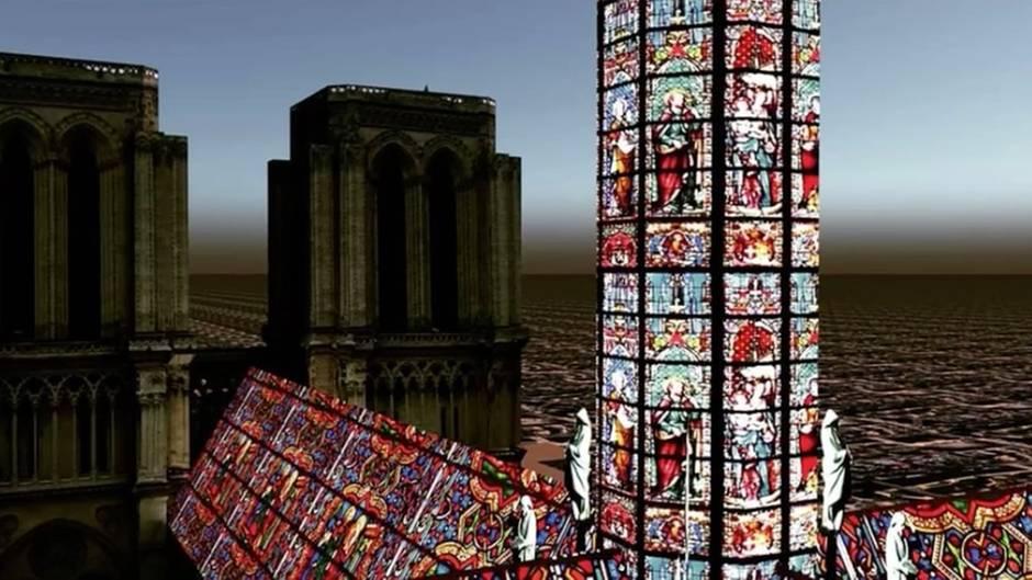 Architekturwettbewerb: Pompöses Kristalldach? So könnte Notre-Dame bald aussehen