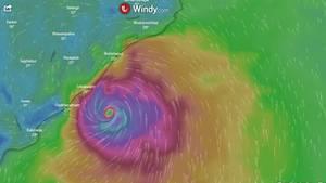 Zyklon Indien