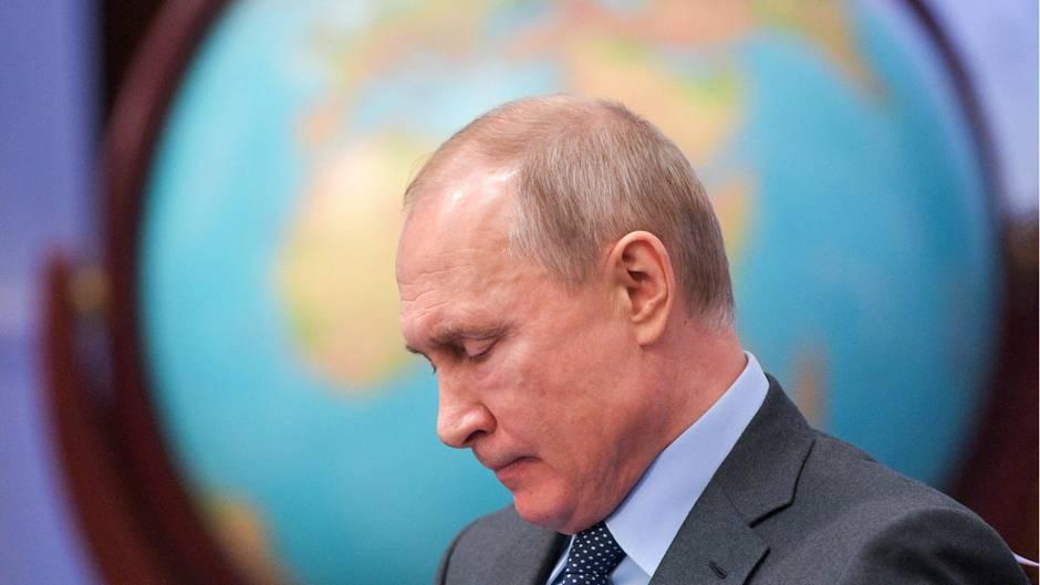 Wladimir Putin will in Russland ein Internet haben, das nicht von ausländischen Servern abhängig ist