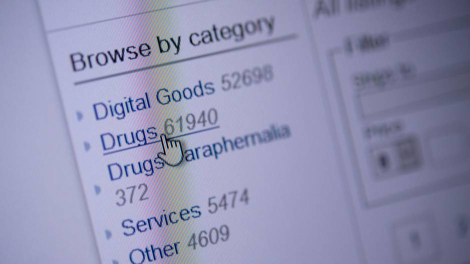 Eine Handelsplattform im Darknet