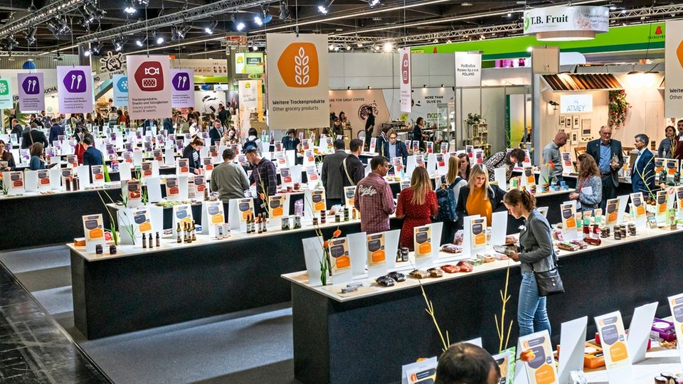 """""""Neuheiten""""-Halle bei der Biofach 2019 in Nürnberg: Die Branche boomt wie nie zuvor"""