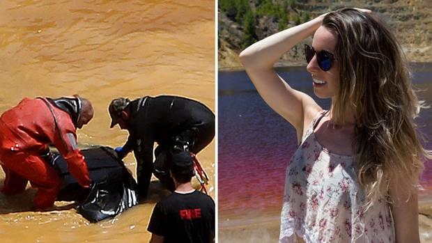 Youtuberin filmt sich am verlassen Baggersee auf Zypern – nun fällt ihr ein grausames Detail auf