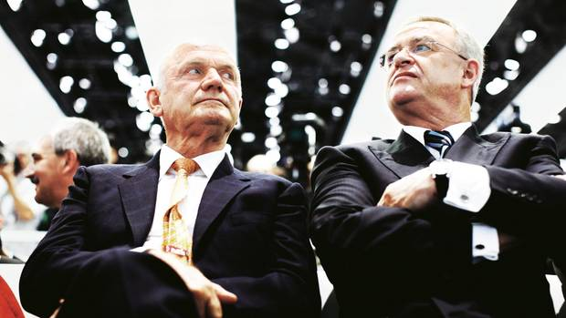 Brüder im Geiste: Ex-Aufsichtsrat Ferdinand Piëch und Ex-Vorstand Martin Winterkorn arbeiteten einst eng zusammen – und sind heute erbitterte Feinde