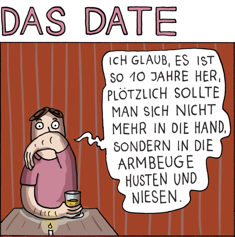 Stern-Comics: So ein Date hatten Sie bestimmt noch nicht