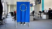 Europawahl im Newsroom von stern.de