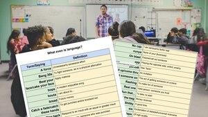 """Twitter: Schülerin findet heimliches """"Slang""""-Wörterbuch ihres Lehrers"""