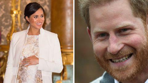 Meghan Baby: Prinz Harry überglücklich