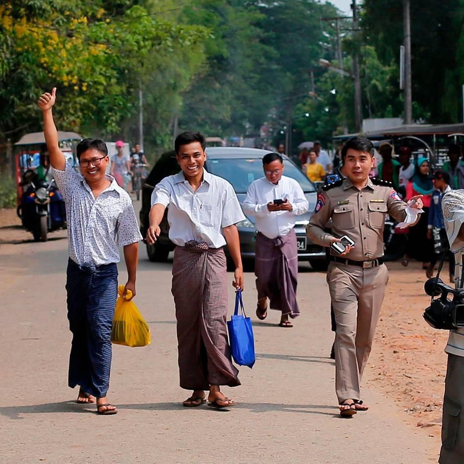 News des Tages: Myanmar lässt Reuters-Journalisten frei