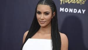 Kim Kardashian auf dem Roten Teppich bei den MTV Movie & TV Awards