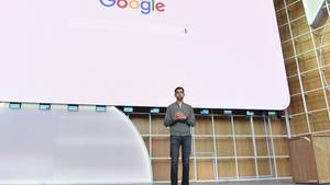 Google-CEO Sundar Pichai hielt die Eröffnungsrede der I/O 2019 in Mountain View