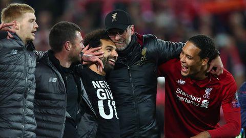 Jürgen Klopp feiert mit Liverpool den Sieg