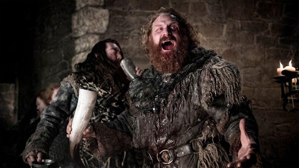 """Durfte noch einmal Spaß haben, bevor auch er aus """"Game of Thrones""""abgeschoben wurde: Tormund."""