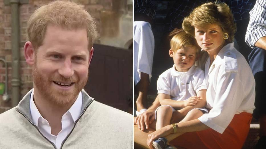 Erste Tage als Vater: Warum Prinz Harry in diesen Tagen wohl besonders häufig an Prinzessin Diana denkt