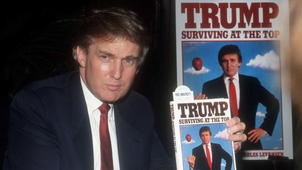 Der heutige US-Präsident Donald Trump 1990