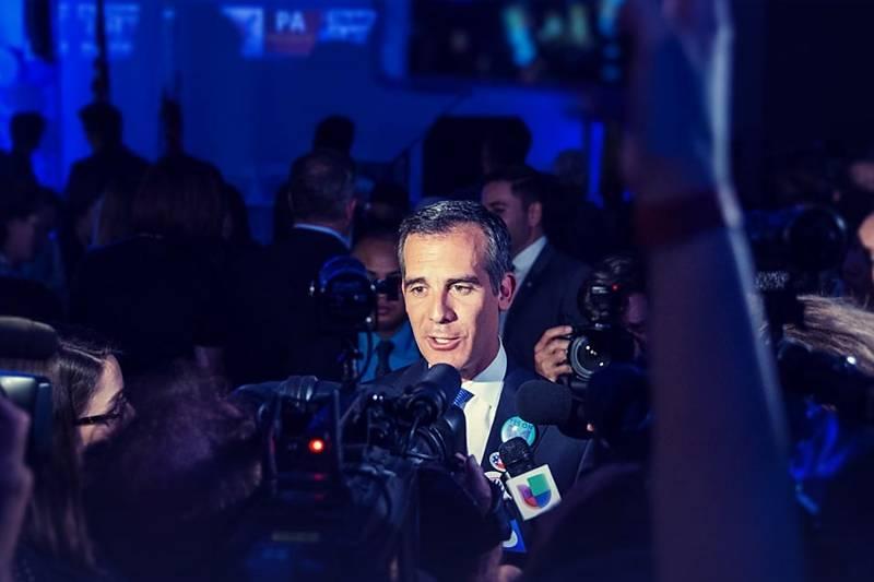 Los Angeles Bürgermeister Eric Garcetti